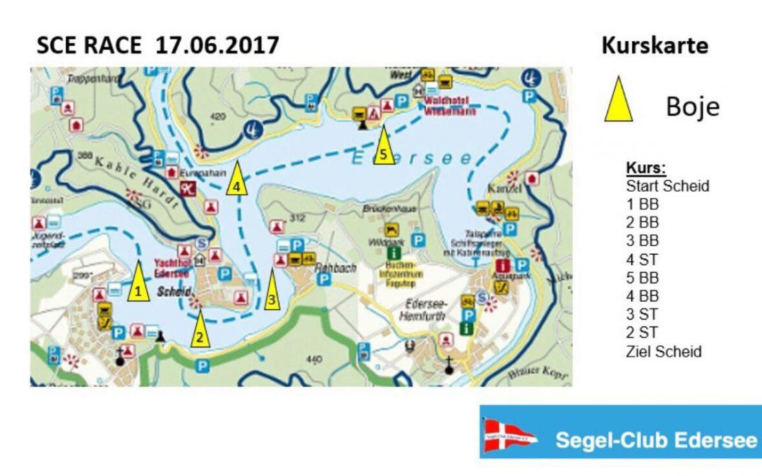 SCE Race auf den 17.6.17 vorverlegt!